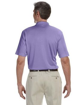 Ashworth 3046 Mens Performance Interlock Stripe Polo