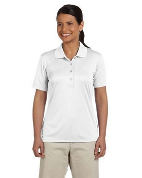 Ashworth 3050 Ladies Performance Interlock Solid Polo