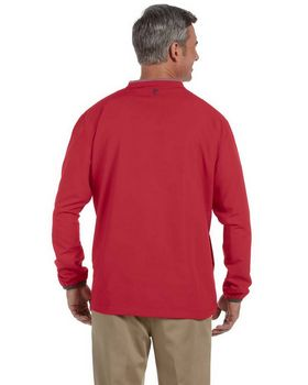 Ashworth 5267 Men's V-Neck Wind Jacket - Shop at ApparelnBags.com
