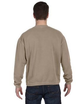 Authentic Pigment 11561 Pigment-Dyed Ringspun Cotton Fleece Crew
