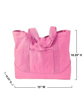 Authentic Pigment 1904 Large Canvas Tote