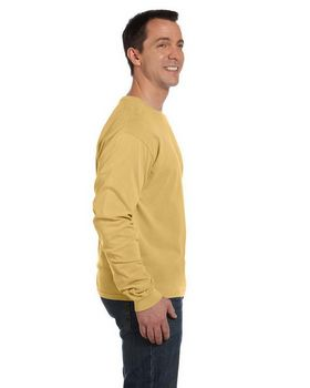 Authentic Pigment 1971 Dyed Ringspun Long-Sleeve T-Shirt