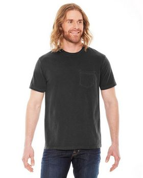 Authentic Pigment AP201 Mens XtraFine Pocket TShirt