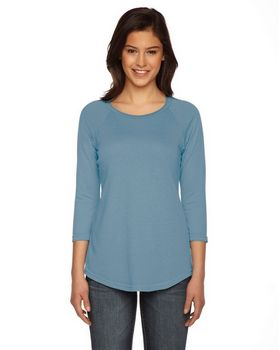 Authentic Pigment AP203W Ladies True Spirit Raglan TShirt
