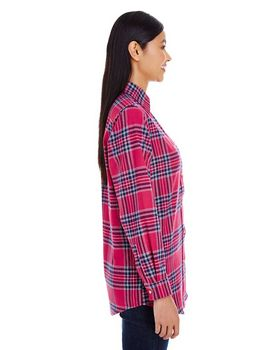 Backpacker BP7030 Ladies Yarn-Dyed Flannel Shirt at ApparelnBags.com