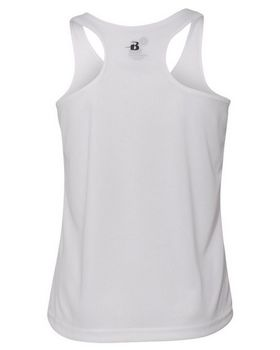 Badger 2166 B-Core Girls Racerback Tank Top