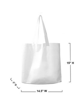 BAGedge BE002 Non-Woven Promo Tote - Shop at ApparelnBags.com