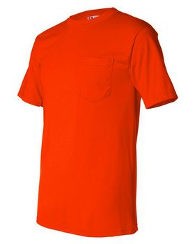 Bayside 1725 50/50 Pocket T shirt - Shop at ApparelnBags.com