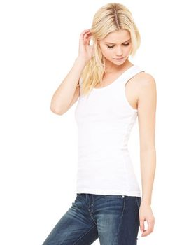 Bella + Canvas 1080 Ladies 1x1 Baby Rib Wide Strap Tank