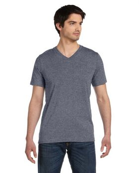 Bella + Canvas 3005U Unisex Made in the USA Jersey Short Sleeve V-Neck T-Shirt