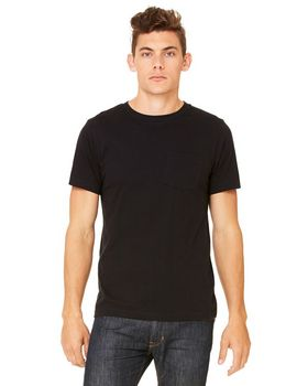 Bella + Canvas 3021 Mens Jersey Pocket T-Shirt