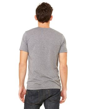 Bella + Canvas 3413 Adult Fitted Tri-Blend Tee