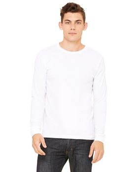 Bella + Canvas 3501 Men's Filmore Long-Sleeve T-Shirt
