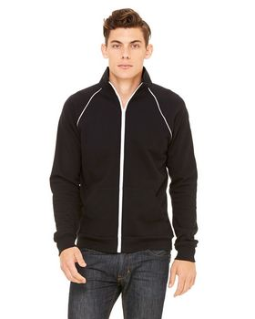 Bella + Canvas 3710 Men's Piped Fleece Jacket