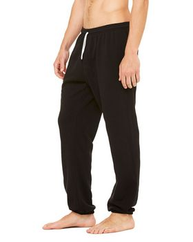 Bella + Canvas 3737 Unisex Fleece Long Scrunch Pant