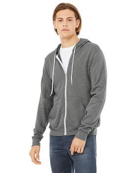 Bella + Canvas 3739 Unisex Poly Cotton Fleece Hoodie