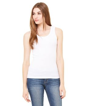 Bella + Canvas 4000 Ladies 2x1 Rib Tank