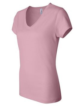 Bella + Canvas 6005 Ladies Jersey V-Neck Tee