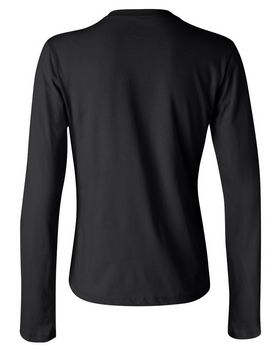 Bella + Canvas 6500 Womens Long Sleeve Jersey Tee