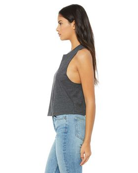 Bella + Canvas 6682 Ladies Cropped Tank