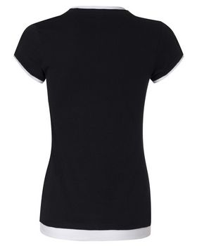 Bella + Canvas 8102 Ladies Sheer Jersey 2-in-1 T-Shirt
