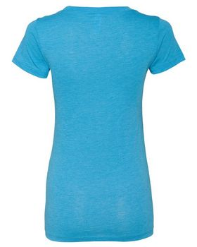 Bella + Canvas 8413 Womens Triblend Short Sleeve Tee