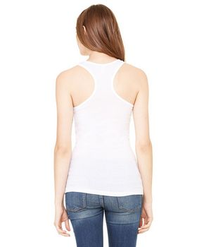 Bella + Canvas 8770 Ladies Meredith Sheer Rib Racerback Tank