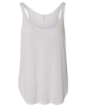 Bella + Canvas 8802 Womens Flowy Tank with Side Slit