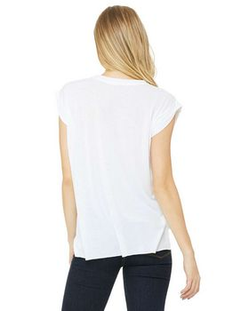 Bella + Canvas 8804 Ladies Flowy Muscle T-Shirt