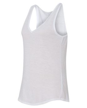 Bella + Canvas 8805 Womens Flowy V-neck Tank