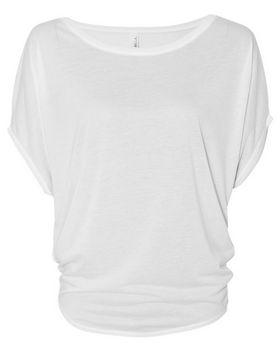 Bella + Canvas 8806 Womens Flowy Circle Top