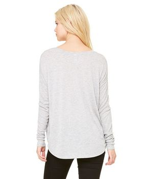 Bella + Canvas 8852 Ladies Flowy Long Sleeve T Shirt