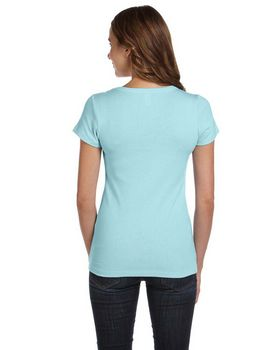 Bella + Canvas B1003 Ladies Scoop Neck T-Shirt