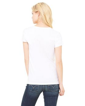 Bella + Canvas B6005 Ladies Jersey V-Neck T-Shirt