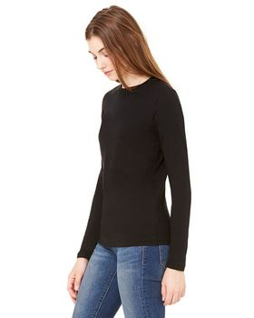 Bella + Canvas B6500 Ladies Crew Neck Jersey T-Shirt