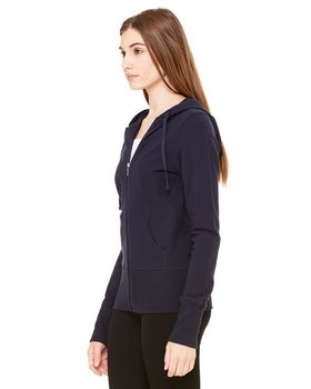 Bella + Canvas B7207 Ladies Stretch French Terry Lounge Jacket
