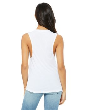 Bella + Canvas B8803 Ladies Flowy Scoop Muscle T Shirt