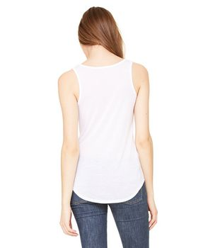 Bella + Canvas B8805 Ladies Flowy V-Neck Tank