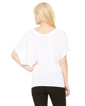 Bella + Canvas B8821 Ladies' Flowy Dolman Tee