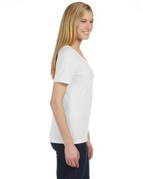 Bella + Canvas 6406 Missy Short-Sleeve Scoop Neck T-Shirt