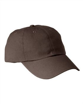 Big Accessories BX005 6-Panel Washed Low-Profile Cap