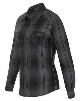 Burnside 5206 Convertible Sleeve Western Shirt