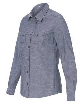 Burnside 5255 Long Sleeve Chambray