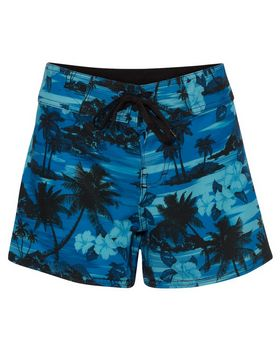 Burnside 5371 Stretch Diamond Dobby Board Shorts