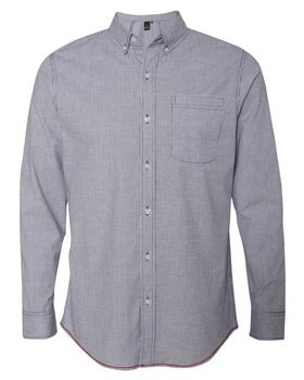 Burnside 8259 Stretch-Stripe Shirt