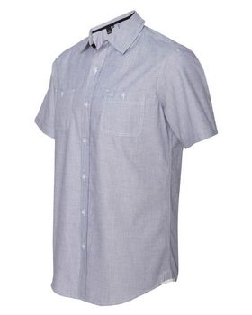 Burnside 9257 Mini-Check Shirt