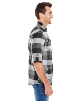 Burnside B8210 Mens Plaid Flannel