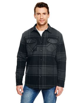 Burnside B8610 Adult Quilted Flannel Jacket