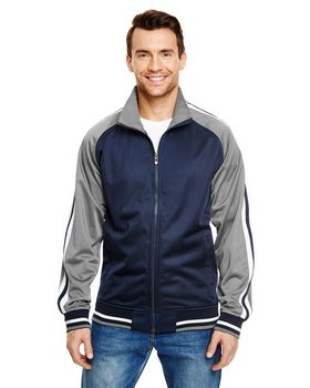 Burnside B8653 Varsity Track Jacket