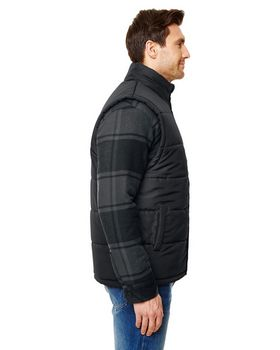 Burnside B8700 Adult Puffer Vest